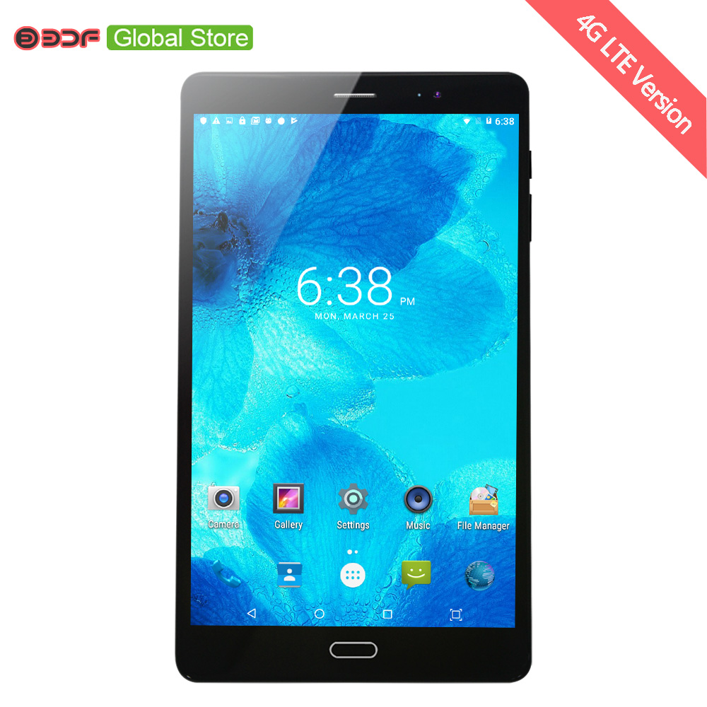 New Arrival 8 Inch 4G Phone Call Tablet Pc Octa Core Android 7.0 Tablets WiFi Bluetooth 64GB Laptop 1920x1200 IPS HD Screen