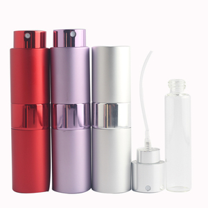 Image 4 - Mini 15ML Portable Spray Bottle Refillable Empty Perfume Atomizer Spray Bottles Travel Accessories Scent Pump Cosmetic Container