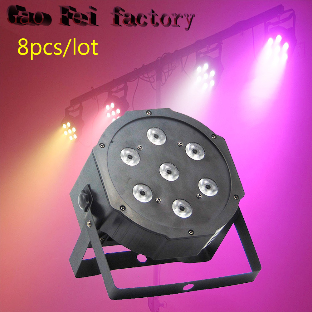 8 pcs/lot 7x12W 4IN1 Led Par Light RGBW Case DMX512 Stage Lighting 8 Channels Led Par Cans8 pcs/lot 7x12W 4IN1 Led Par Light RGBW Case DMX512 Stage Lighting 8 Channels Led Par Cans