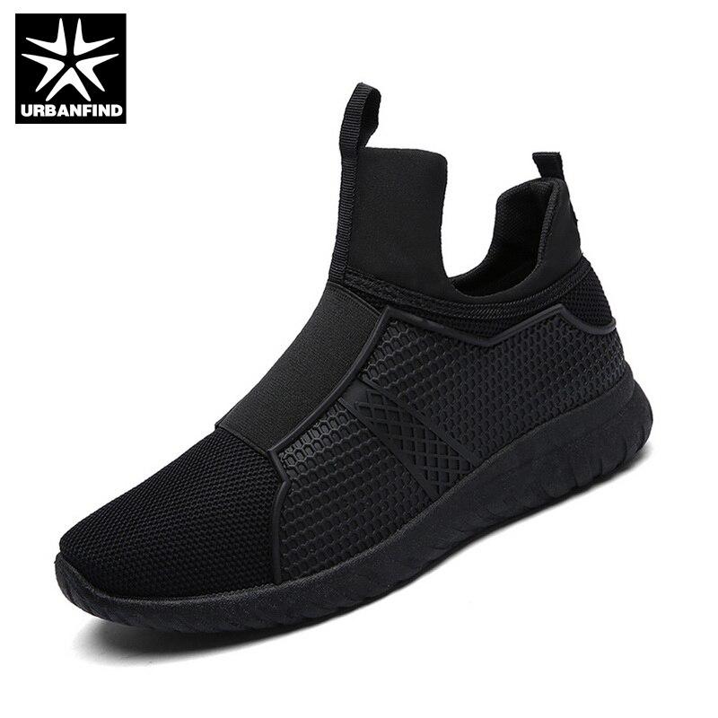 URBANFIND Winter Warm Men Casual Shoes Breathable Slip On Flats EU 39 44 Men Comfortable Shoes