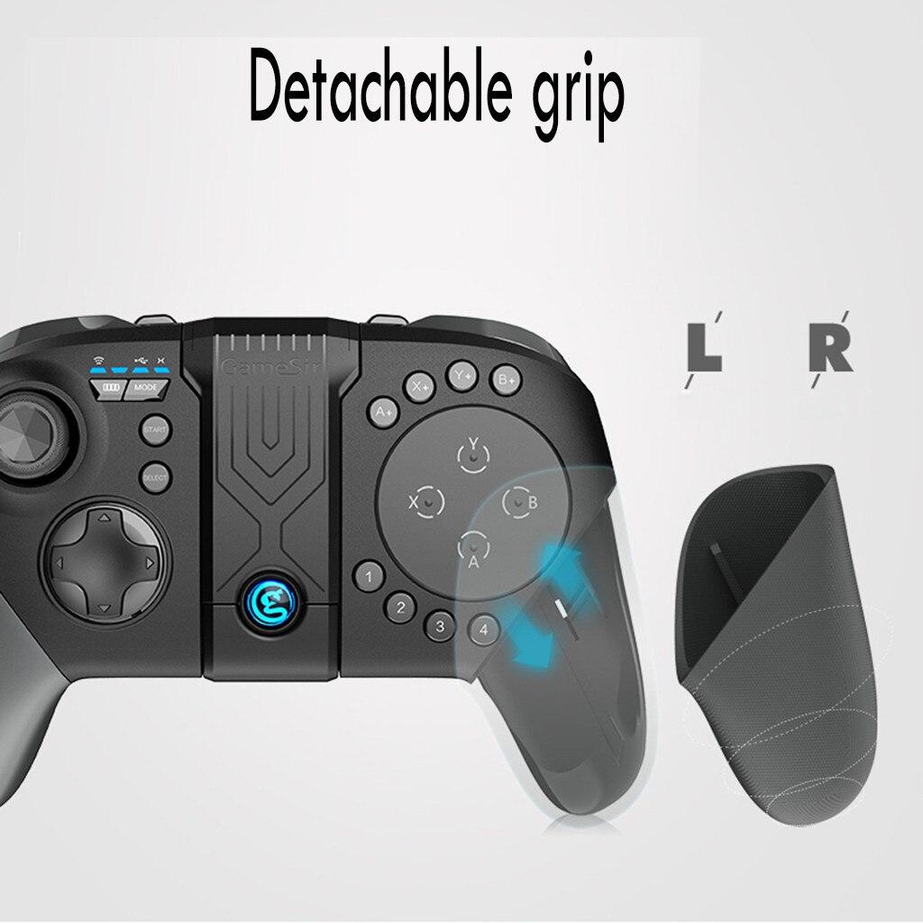 Contrôleur de jeu sans fil Bluetooth pavé tactile manette de jeu pour Android iOS Bluetooth Android manette de jeu télécommande