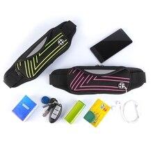 цена на Waterproof Sport Waist Belt Bum Pouch Fanny Pack Running Camping Hiking Zip Bag