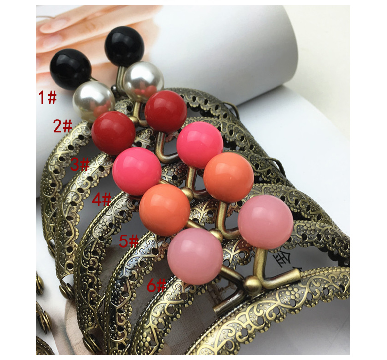 Colorido doce cor fivela pequena bolsa feminina