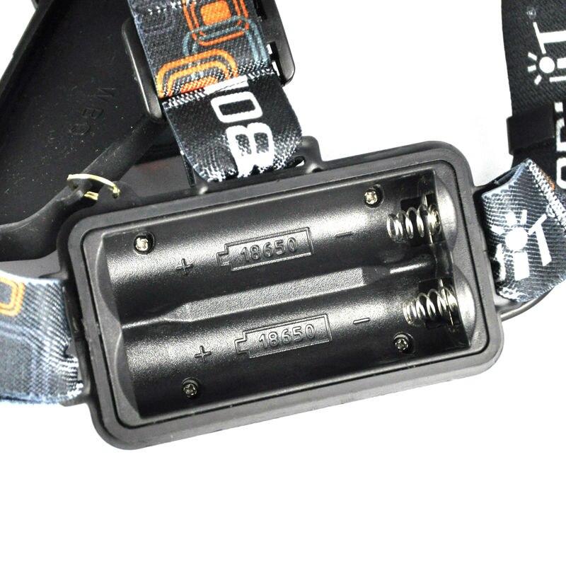 Boruit RJ-3000 3LED Headlamp headlight High Lumens (8)