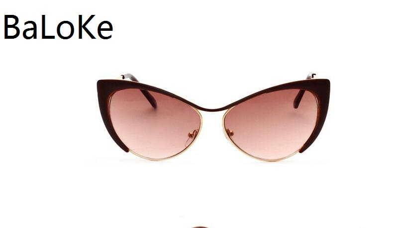 Vintage Women Sunglasses Cat eye Eyewear Brand Designer Retro Sunglass Female Oculos de sol Small Frame Sun glasses