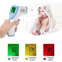 Новый 1 Шт. Цифровой ИК Инфракрасный Термометр Детские Тела ЖК-Бесконтактный Температура Gun Форма