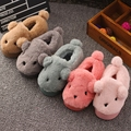 2016 Little kids cotton slippers  with the new ball cute  rabbit children's cotton-padded cute baby cotton indoor slippers