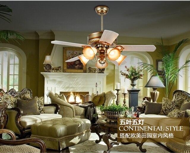 Europese retro ventilator licht minimalisme moderne woonkamer ...
