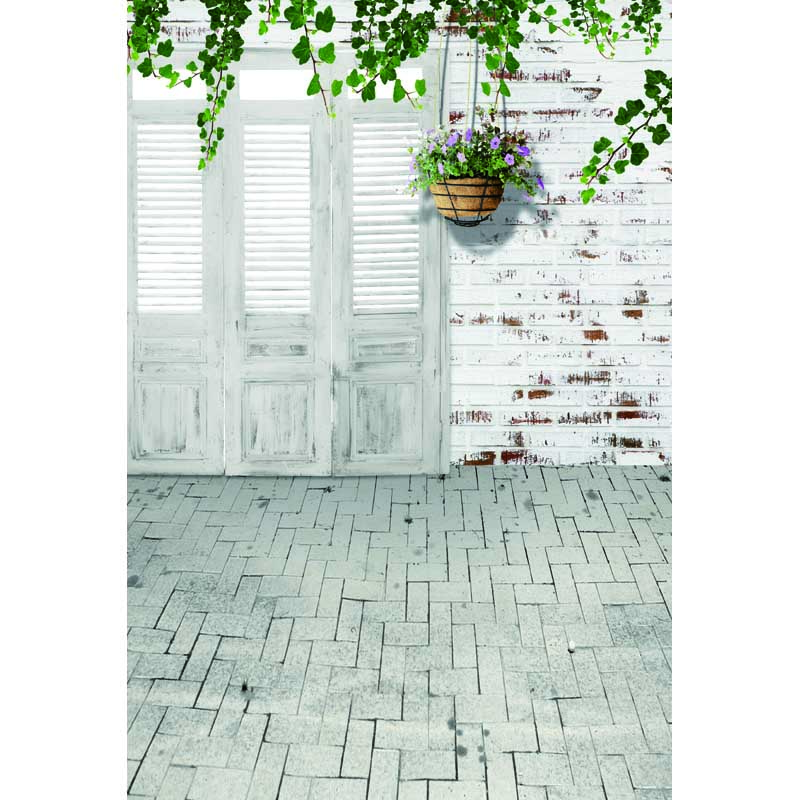 Vinyl print white brick wall room wedding photography backdrops for photo studio portrait or party backgrounds F-14 2015 new 10ft 16ft photo studio vinyl backgrounds special design white wedding theme backdrops f 1243