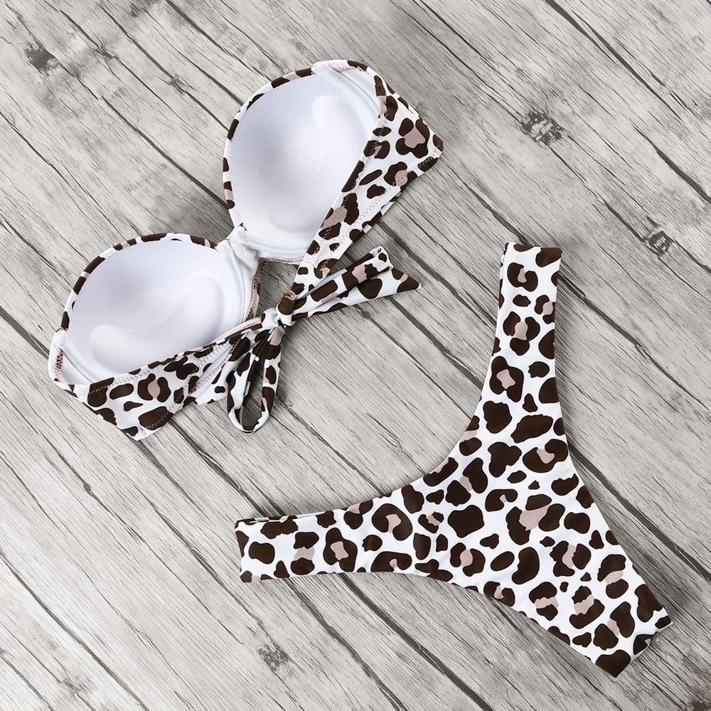 HTB1OV0EelWD3KVjSZFsq6AqkpXas animal print leopard bikini push up swimsuit sexy women bikini set 2019 brazilian thong bathing suit bandeau beach wear swimwear