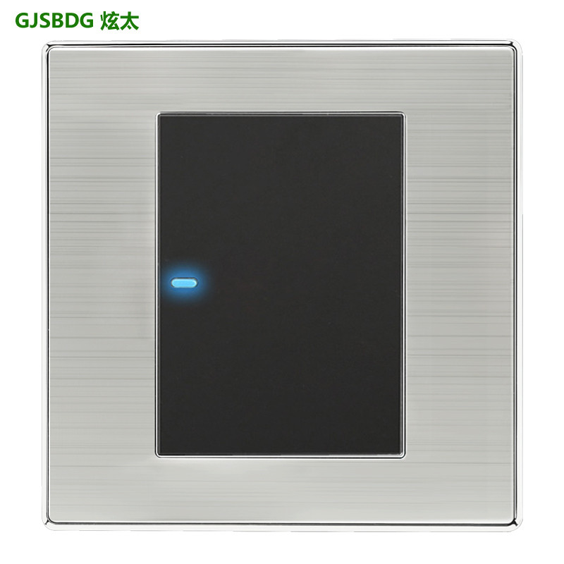 Gjsbdg Luxury Wall Switch  1 Gang 2 Way Panel Light Switch