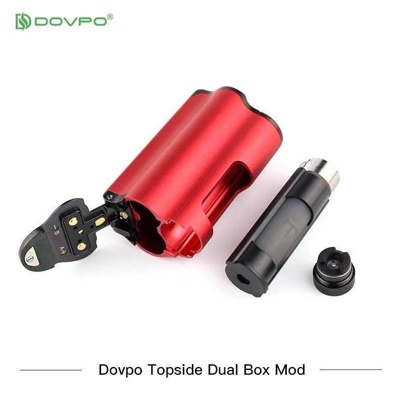 Nova cor dovpo topside dupla superior preenchimento tc squonk mod com 10ml garrafa de cigarros eletrônicos mods vs voopoo arrastar 2/vape mod - 4