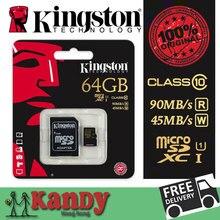 Kingston carte micro sd carte mémoire 16 gb 32 gb 64 gb classe 10 UHS-I microsd uhs cartao de memoria tarjeta micro sd carte sd tf carte
