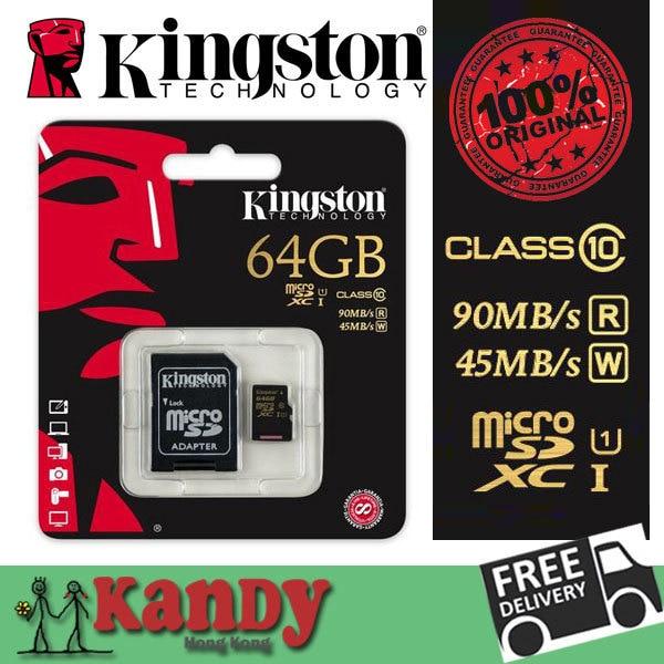Kingston micro sd card memory card 16gb 32gb 64gb class 10 UHS-I microsd uhs cartao de memoria tarjeta micro sd carte sd tf card