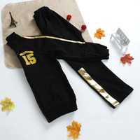 Boy sports clothes sets, boys spring fall clothes, children trendy casual clothes