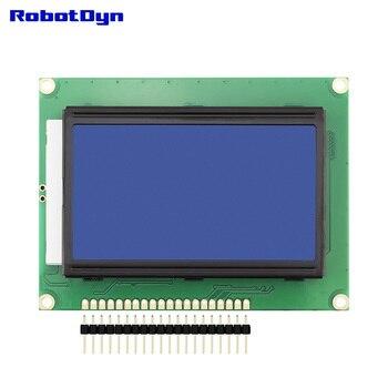 Grafische LCD 12864 display, BLAUWE kleur met LED Backlight, rezolution 128x64