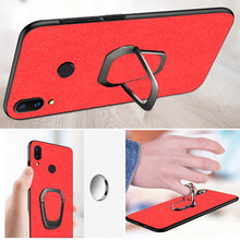 Case for huawei p20 p30 lite mate 20 lite p30 pro nova 4 4e 3 3i TPU edge Magnetic Car Holder Ring CBumper Back phone Cover case(China)