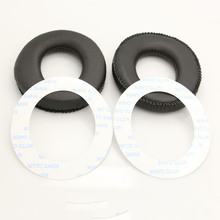 Ear Pads for AKG K44 K55 K66 K77 K99 Headset Replacement Cushion PU Leather Soft Foam Earpads