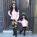 XMAS Kids Baby letters T-shirt Casual T-Shirt Fashion Loose New Tops