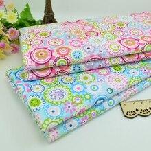 100*160 см цветочное лоскутное изделие из хлопчатобумажной ткани тканевая ткань ручной работы шитье Детские и Детские простыни платье платок