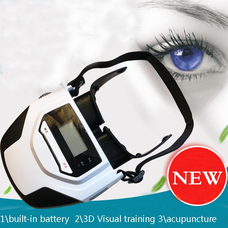 Generation 2 Built-in Battery 3D Visual Training Acupuncture Laser Eye Massager Relaxing eye trainning device платок le motif couture le motif couture mp002xw1aefp