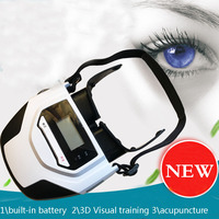 Generation 2 Built in Battery 3D Visual Training Acupuncture Laser Eye Massager Relaxing eye trainning device