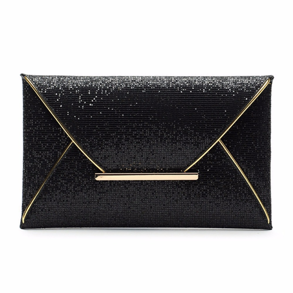 2018 Envelope clutch Lady Sparkling Dazzling Bag Purse Evening Party Handbag Day Clutches Shining Clutch Large Capacity Wallet