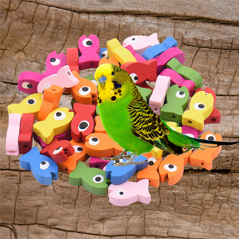 Us 1 86 27 Off Multipurpose Diy Bird Toy Accessories Colorful Wood Beads Bird Toy In Bird Toys From Home Garden On Aliexpress Com Alibaba Group