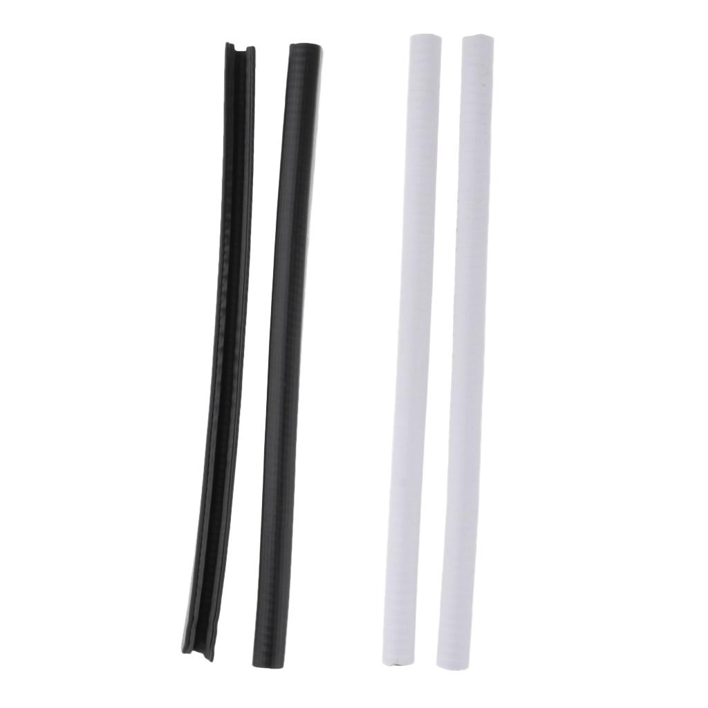 2Pcs Skateboard Nose Guard Tail Guard Edge Protection Rubber Strip Protective Gear Accessories Longboard Banana Board