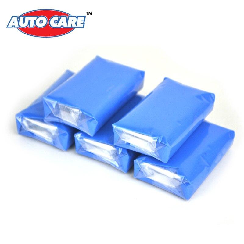 Prix pour Auto Soins 5pcs100g Magic camion Voiture Propre Clay Bar Auto Detailing Cleaner Laveur De Voiture Bleu