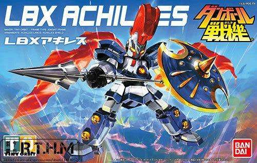 Bandai Danball Senki Plastic Model 001 LBX Achilles Scale model