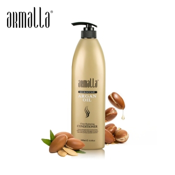 High Grade Armalla 1000ml Moroccan Oil Clear Hydrating Conditioner hair Treatment Moisturizing Soft Shiny Hair 6pcs armalla moroccan argan oil professional moisturizing dry damaged hair maintenance clear hydrating care hair