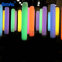 Z168 BENAO Free shipping 3m Inflatable Pilar,inflatable tube/inflatable led lighting tube /column for event,inflatable replicas