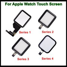 Faishao Brand New Glass Lens Panel Digitizer Touch Screen For Apple Watch Series 1 2 3 4 5 38mm 42mm 40mm 44mm Replacement