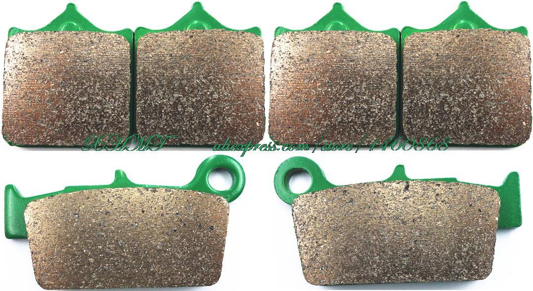 Brake Pads Set For Sherco Sm 4.5i Sm 5.1i F ( Black ...