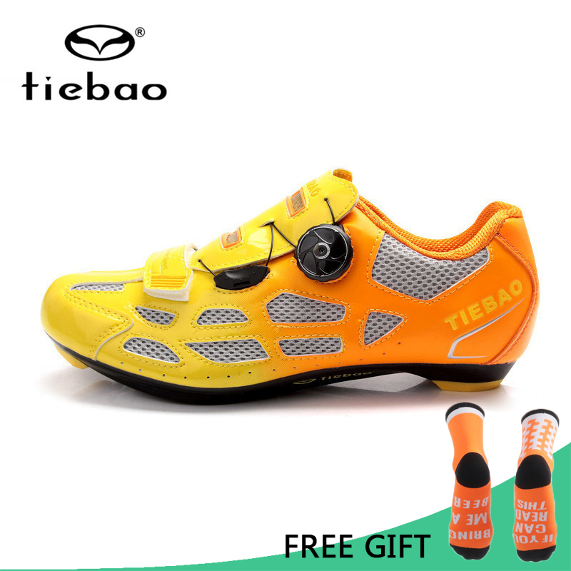 Tiebao Bicycle Cycling Shoes Breathable Men Women Road Bike Racing Athletic Shoes Self-Locking Shoes zapatillas ciclismo free shipping breathable athletic cycling shoes road bike bicycle shoes nylon tpu soles for road racing mtb eur35 39 us3 5 7