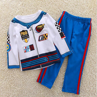 Jumping Beans Hot Selling Boy Clothing Sets Children Cotton Fashion Knitted O Neck Long Sleeve Top