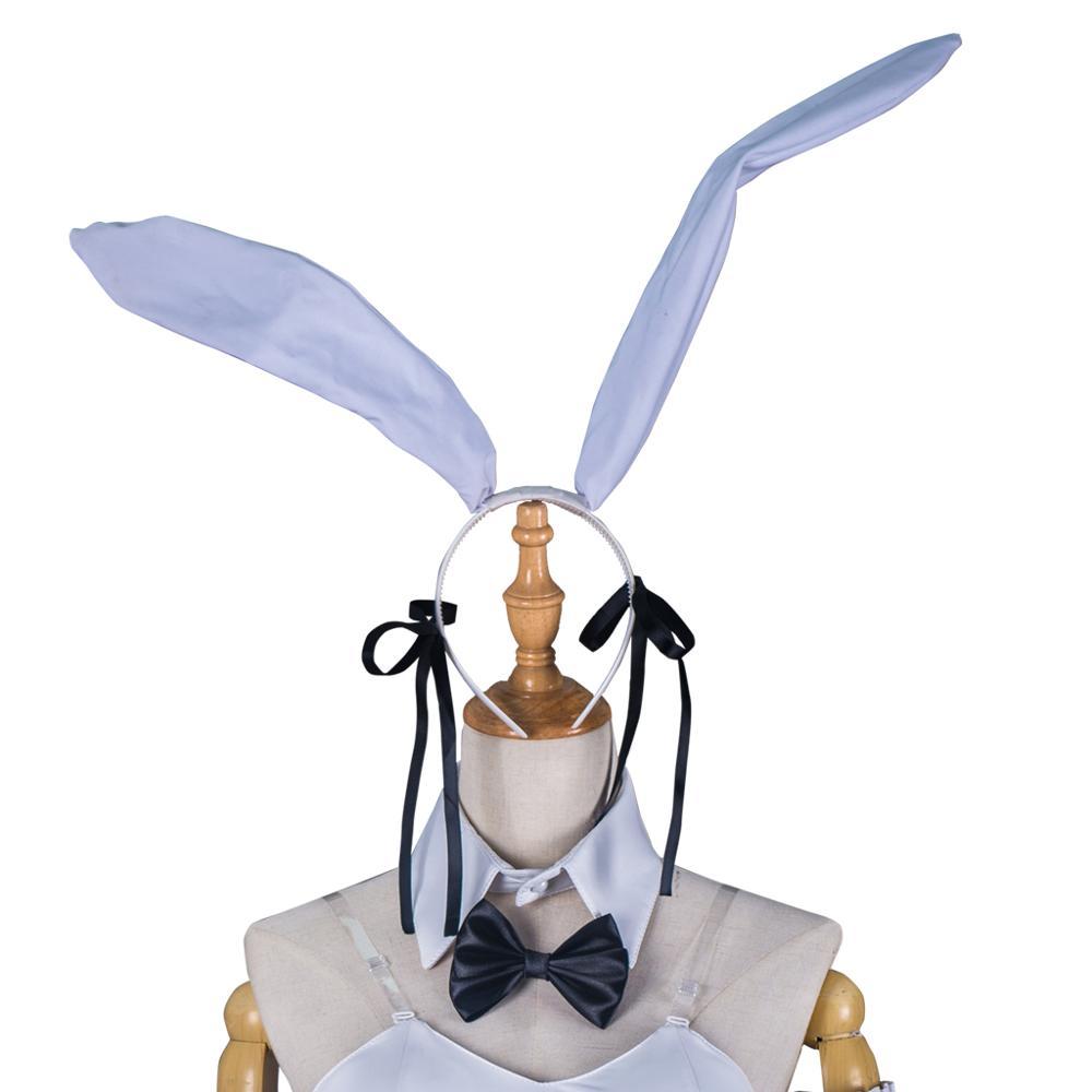 Yosuga No Sora Cosplay Kasugano Sora japonais Anime femmes fantaisie Costume vêtements Halloween blanc body combinaison Costume - 4