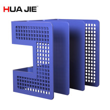 Hua Jie Magazine File Holder Organizer Box 6 41x 8 07x7 95 Blue