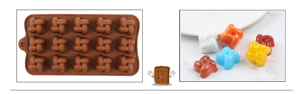 29 Shapes Silicone Baking Molds Made Of Pure Silicon Material For Jelly And Candy Mold 8