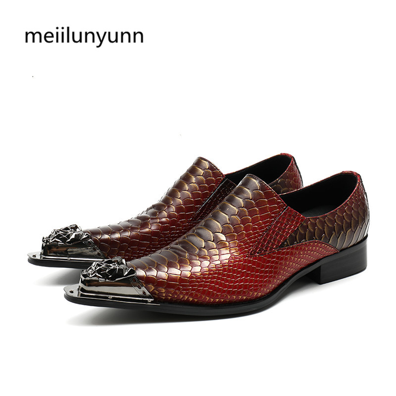 Suede Leather Sapato Masculino Men Shoes Slip-on Rose Flower Male Shoes Coolsapato Masculino Flats 46 Metal Toe Chaussure Homme Shoes