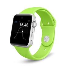 M09 SW25 Smartwatch 1,54 zoll MTK2502 Kamera Sitzende Erinnerung Bluetooth Schrittzähler Schlaf-monitor Unterstützung SIM Pulsmesser
