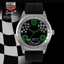 Master Collection RELOJ GT Marca de Lujo de Los Hombres Reloj de pulsera de Moda Correa de Silicona de Cuarzo Relojes Piloto Militar Reloj Deportivo