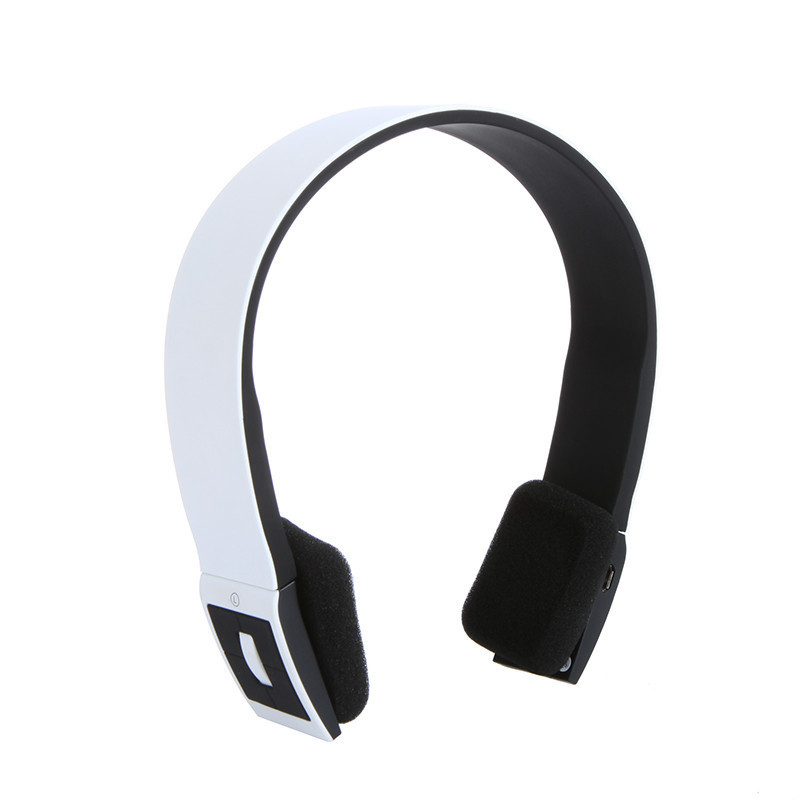 Stereo Bluetooth Earphone Headset Headphone Wireless With Call Microphone For Sport JLRL88
