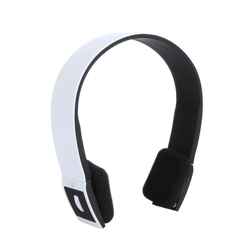 Stereo Bluetooth Earphone Headset Headphone Wireless With Call Microphone For Sport JLRL88