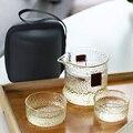 Чайная чашка для путешествий  набор стеклянных чашек для заварки чая  молоток для путешествий  быстрая доставка  Набор чашек из высокосилик...