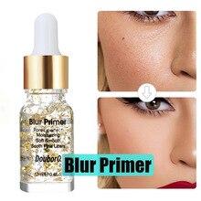 Blur Primer Основа под макияж для лица Gold Elixir Oil Control Профессиональный матовый макияж Поры  Лучший!