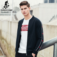 Pioneer Camp New Arrival Fashion Jacket Men Spring Famous Brand Clothing Zipper Male Coat Casual Outerwear