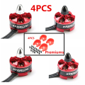 4Set/lot KINGKONG 2205 2300KV 2CW And 2 CCW Brushless Motor For RC Multicopter QAV250 Give 4PCS  Motor Protection Seat