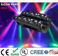 New Moving Head Led Spider Light 8x6W 8x12W RGBW Led Party Light DJ Lighting Beam Moving